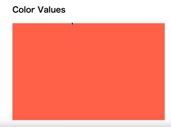 エリアを定めて色の表示を見たい